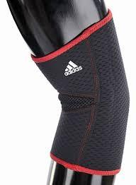 Фиксатор для <b>локтя Adidas</b>, цвет: черный, размер S/M — купить в ...