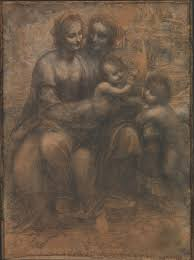 The Virgin and Child with Saint Anne and Saint John the Baptist ...