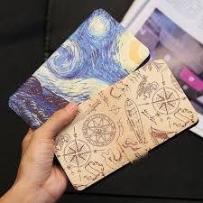 <b>QIJUN Painted Flip Wallet</b> Case For Alcatel One Touch Pop 3 5015 ...