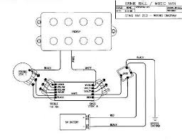 pre amps and pups musicmanbass org music man musicman music a schematic wiring diagram for the m05400 replacement board directly above note the violet lead out wire on left hand side as opposed to the normal three