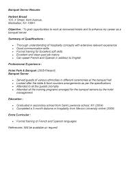 banquet server resume example for job application banquet manager job description banquet job description banquet captain resume