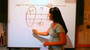 using double number line diagrams   youtube