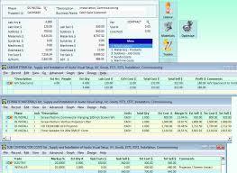 job estimating software interacct construction estimate lines middot job detailed estimates