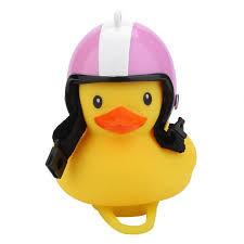 1Pcs <b>Creative</b> Light <b>Belt</b> Helmet Small Yellow Duck Shape <b>Bicycle</b> ...