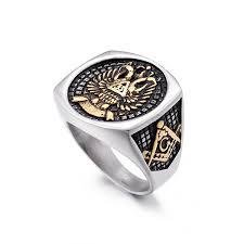 <b>Luxury Freemasonry AG</b> Jewelry Rings Double Eagle Design ...