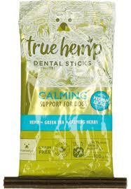 traindee® • True Hemp <b>Dental Sticks</b> Calming • The leash-expander ...