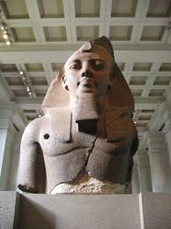 books to the ceiling the younger memnon statue of ramesses ii in the british museum thought to