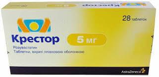 <b>Крестор 5 мг</b> №<b>28</b> таблетки: цена, инструкция, отзывы, купить в ...