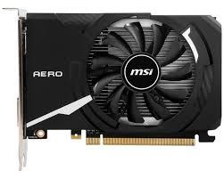 6 559 ₽ <b>Видеокарта MSI GeForce GT</b> 1030 AERO ITX 2GD4 OC