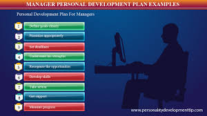 manager personal development plan example personality manager personal development plan example