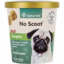 NaturVet <b>No Scoot</b> Plus Pumpkin Soft Chew for <b>Dogs</b>, 60 Count at ...