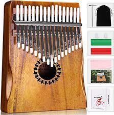 Kalimba Thumb Piano 17 Keys, Portable Mbira Finger ... - Amazon.com