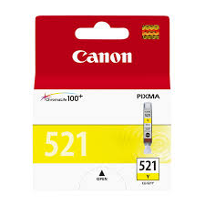 <b>Картридж</b> для струйного принтера <b>Canon CLI</b>-<b>521Y</b> ...