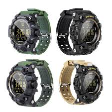 EX16S <b>Smart Sports Watch</b> Bluetooth 4.0 IP67 Waterproof ...