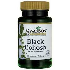 SWANSON <b>FULL SPECTRUM BLACK COHOSH</b> 540MG x 60 ...