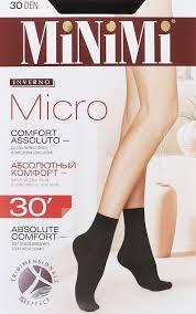 <b>Носки женские Minimi Micro</b> 30, цвет: Nero (черный). Размер ...