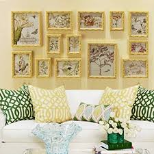 Qfgis 13 Multi Photo <b>Frames</b> Set <b>European Style Retro</b> Nostalgic ...