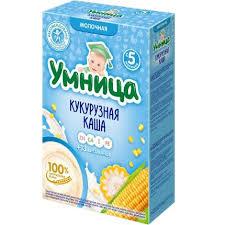 Купить <b>Каша Умница молочная</b> кукурузная (с 5 месяцев) 200 г, 12 ...