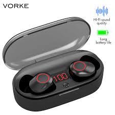 Vorke <b>T14 TWS</b> Earphone <b>Bluetooth</b> 5.0 Waterproof Earphone Mini ...