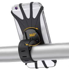 <b>Bike Phone Mount</b> 360° Rotation Silicone <b>Bicycle Phone Holder</b> ...