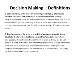 making decisions essay  wwwgxartorg decision making and critical thinking