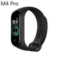 M4 Smart band Fitness Tracker Watch Heart Rate Blood Pressure ...