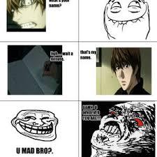 RMX] My First Meme:light Yagami by molugarg - Meme Center via Relatably.com