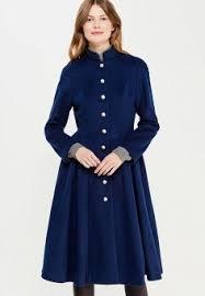 Купить синие женские <b>пальто</b> от 1 749 руб в интернет-магазине ...
