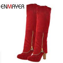 Compare Prices on <b>Enmayer</b>+knee+high+boots- Online Shopping ...