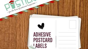 POSTICK - <b>Adhesive labels</b> that convert things into postcards by ...