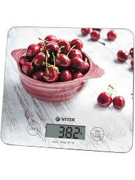 <b>Весы кухонные</b> VT-8002 <b>Vitek</b> 6628895 в интернет-магазине ...