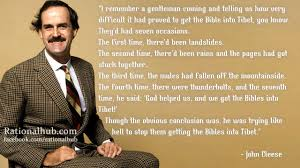John Cleese's quotes, famous and not much - QuotationOf . COM via Relatably.com