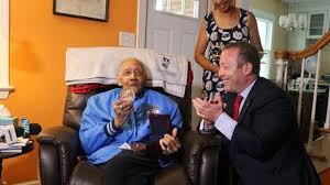 <b>100</b>-year-<b>old New</b> Jersey vet awarded honorable Tuskegee Airman ...