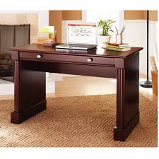 better homes and gardens ashwood road writing desk cherry finish home office furniture cherry finished