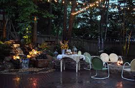 diy landscape lighting backyard landscape lighting