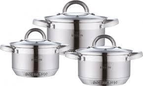 <b>Набор</b> посуды <b>Bohmann BH 0715</b> 6 предметов — купить в ...