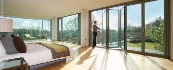 bi folding patio doors fold lighthouse new slim profile quality aluminuim bi fold patio doors inc glass panel