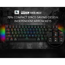 Royal Kludge <b>RK71 Mechanical Gaming</b> Keyboard 71Keys Small ...