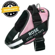 <b>Dog HarnessDog</b> Harness <b>Personalized</b> No Pull & Lifetime Warranty ...