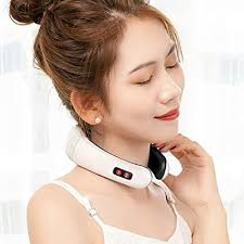 MAGLONG Electric Pulse Neck Massager, Cervical ... - Amazon.com