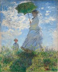 <b>Woman</b> with a Parasol - Madame Monet and Her Son