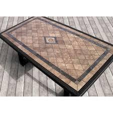 slate top table pinterest tiled patio table  tiled patio table