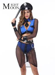 Cheapest MOONIGHT <b>Sexy Woman</b> Police Cosplay <b>Costumes</b> ...