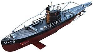 <b>Metal</b> Military Submarine Model, <b>Retro</b> Style Toys, Bar / Home ...