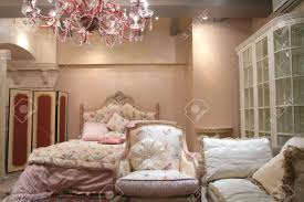 fragment of the interior to luxurious bedroom in rococo style expensive furniture stock photo bedroom furniture expensive