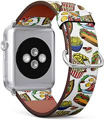 (Fastfood Pattern with Pop Corn, Pizza and Hotdog ... - Amazon.com
