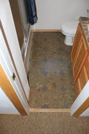 Kitchen Bathroom Flooring Photos Of Cork Flooring Installed In A Bathroom Bend Oregon