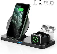 Updated 2020 Version <b>3 in 1</b> Wireless <b>Charger</b>, Apple: Amazon.co ...