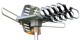 Amplified di gital HDTV Outdoor Antenna with Motorized <b>360</b> ...