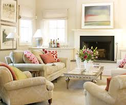 decorating ideas for living room with fireplace 2013 neutral living room decorating ideas from bhg bhg living rooms yellow